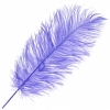 """Ostrich Drab Feathers 11-13"""" Premium Quality Lilac"""